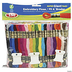 Floss Giant Pack 150/Pkg-Assorted Colors