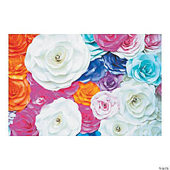 Flower Backdrop Banner