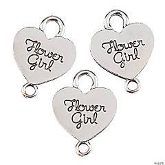 Flower Girl Charms - 19mm