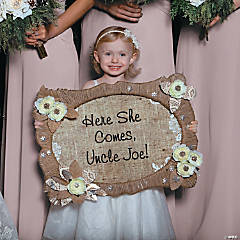 Flower Girl Sign Idea