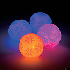 Flower Light-Up Balls