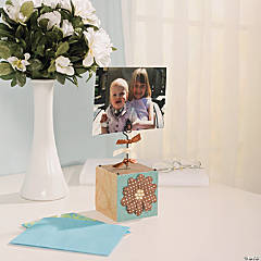 Flower Photo Block Idea
