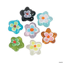 Flower-Shaped Beads
