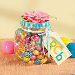 Flower Top Jar Idea
