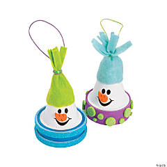 Flowerpot Snowman Christmas Craft Kit