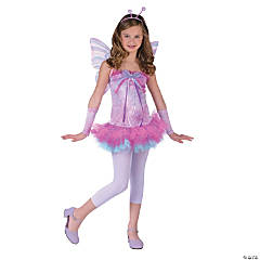 Fluttery Butterfly Teen Costume for Girls