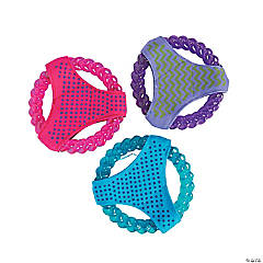 Flying Disc with Canvas Dog Toys