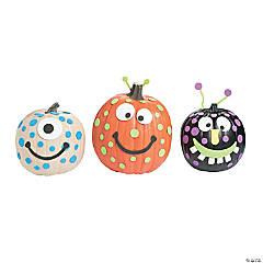 Foam Monster Pumpkin Decorating Craft Kit