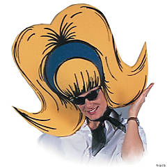 Foam Yellow Bouffant Hat