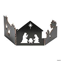 Fold-Up Nativity Scene