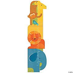 Folding Growth Chart: Animal Tower