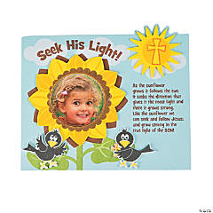 Follow the Son Picture Frame Magnet Craft Kit