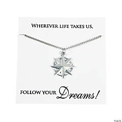 Follow Your Dreams Necklaces with Card