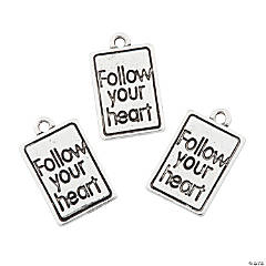 Follow Your Heart Charms