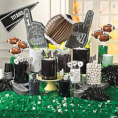 Football Candy Buffet Idea