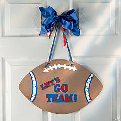 Football Door Hanger Idea