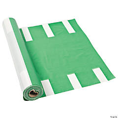 Football Field Plastic Tablecloth Roll