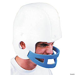 Football Helmet Foam White