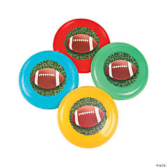 Football Mini Flying Discs