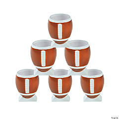 Football Plastic Shot Glasses
