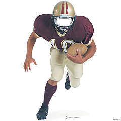 Football Player Stand In Stand-Up