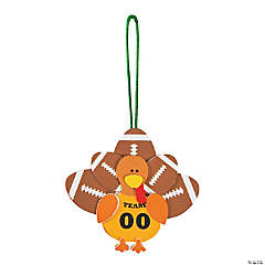 Football Turkey Ornament Craft Kit