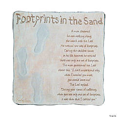 Footprints in the Sand Tabletop Plaque