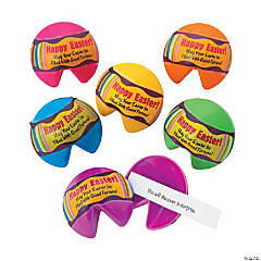 Fortune Cookie Plastic Easter Eggs