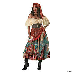 Fortune Teller Women's Gypsy Costume