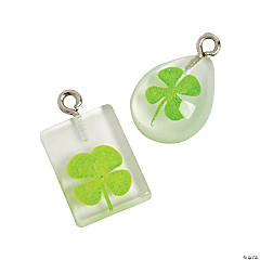 Four-Leaf Clover Charms