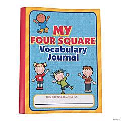 Four Square Vocabulary Journals