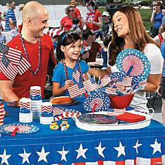 Fourth of July Block Party Supplies