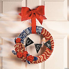 Fourth of July Wreath Idea