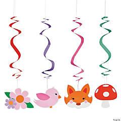 Fox Lady Hanging Swirls
