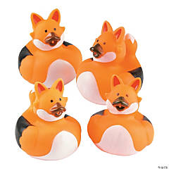 Fox Rubber Duckies