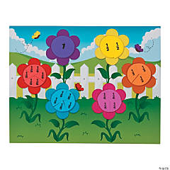 Fraction Flower Garden Craft Kit