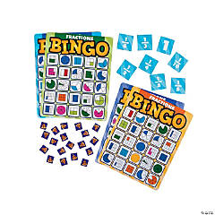 Fractions Premium Bingo Game