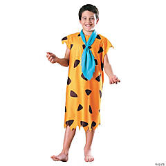 Fred Flintstone Girl's Costume