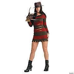 Freddy Female Sexy Adult Women's Costume