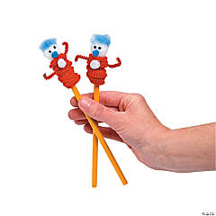 Friend 1 & Friend 2 Pencil Topper Idea