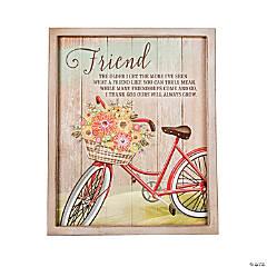 Friend Wall Plaque