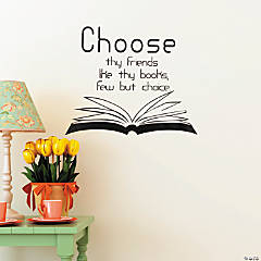 Friends like Books Wall Decals
