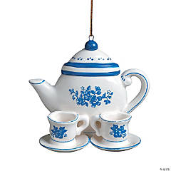 Friendship Teapot Christmas Ornament & Card
