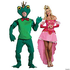 Frog and Princess Couples Costumes