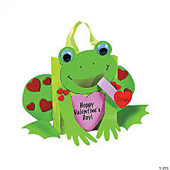 Frog Card Holder Paper Bag Craft Kit