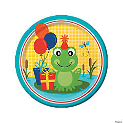 Frog Pond Fun Dinner Plates