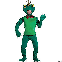 Frog Prince Adult Men's Costume
