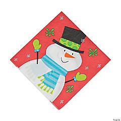 Frosty Friends Luncheon Napkins