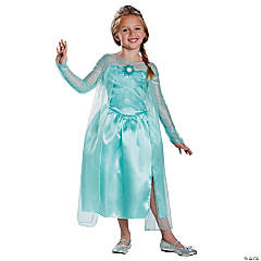 Frozen Elsa Snow Queen Costume for Girls