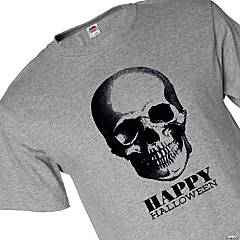 Fruit of the Loom<sup>&#174;</sup> HD Cotton<sup>&#8482;</sup> Adult&#8217;s Short-Sleeve Skull Halloween T-Shirt